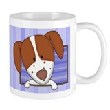 Cartoon Brittany Spaniel Coffee Mug