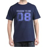 Groom To Be 08 (Blue) T-Shirt