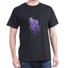 Purple Iris Photographic Art T-Shirt
