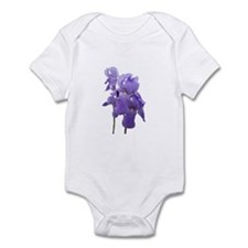 Purple Iris Photographic Art Infant Bodysuit