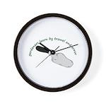 Gardeners learn by trowel Wall Clock
