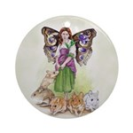 Mouse Shepherd Ornament (Round)