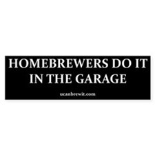 HOMEBREWERS DO IT - Bumper Bumper Stickers