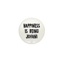 Happiness is being Jovani Mini Button (10 pack)