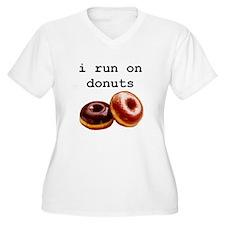 i run on donuts T-Shirt