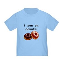 i run on donuts T