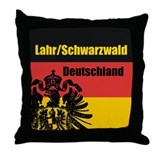 Lahr-Schwarzwald Throw Pillow