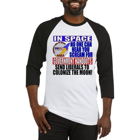 Liberals In Space VRWC  Baseball Jersey