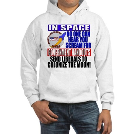 Liberals In Space VRWC Hooded Sweatshirt