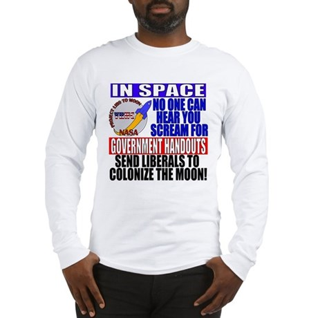 Liberals In Space VRWC  Long Sleeve T-Shirt