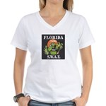 Florida S.W.A.T. Women's V-Neck T-Shirt