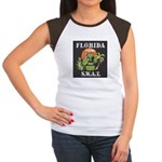 Florida S.W.A.T. Women's Cap Sleeve T-Shirt