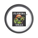 Florida S.W.A.T. Wall Clock