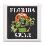 Florida S.W.A.T. Tile Coaster