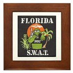 Florida S.W.A.T. Framed Tile