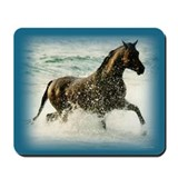 Horse in Water Mousepad