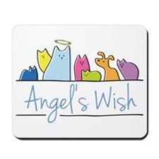Angel's Wish Mousepad