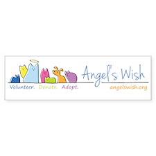 Angel's Wish Bumper Sticker