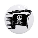 Pirates for Peace Ornament (Round)