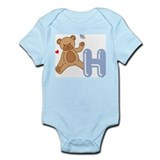 Cute Alphabet blocks Infant Bodysuit