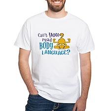 Body Language Garfield Shirt