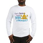 Body Language Garfield Long Sleeve T-Shirt
