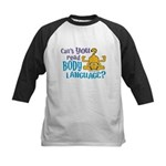 Body Language Garfield Kids Baseball Jersey