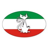 Italian Mod ESK Oval Decal
