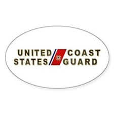 USCG Oval Decal