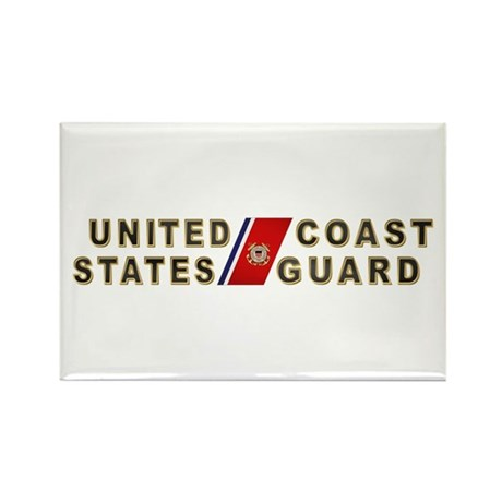 USCG Rectangle Magnet (100 pack)