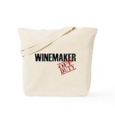 Off Duty Winemaker Tote Bag