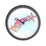 Paige Shooting Star Wall Clock