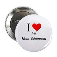 "I Love My New Guinean 2.25"" Button"
