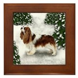 CAVALIER KING CHARLES SPANIEL DOG Framed Tile