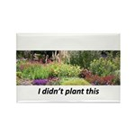 I didn't plant this Rectangle Magnet (100 pack)