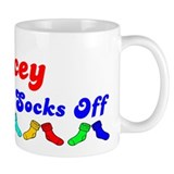 Jacey Rocks Socks (B) Coffee Mug