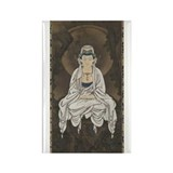 Kannon Scroll Rectangle Magnet