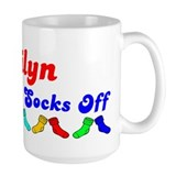 Jailyn Rocks Socks (B) Mug