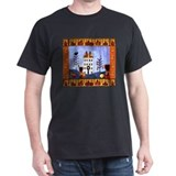 Pumpkin Primitive Folk Art Ho T-Shirt