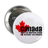 "Canada & The American Dream 2.25"" Button"
