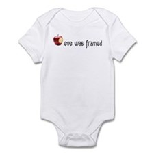 eve was framed Infant Bodysuit