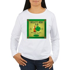 KELLEY'S IRISH PUB Women's Long Sleeve T-Shirt