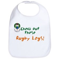 Rugby Legs Baby Bib