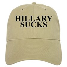 HILLARY CLINTON SUCKS Baseball Cap