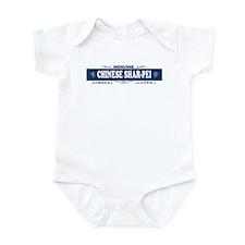 CHINESE SHAR-PEI Infant Bodysuit
