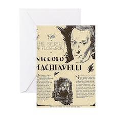 Cool Biography writer Greeting Card