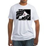 Ruby Lips Fitted T-Shirt