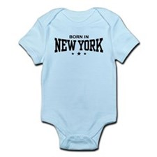 Born In New York Infant Bodysuit