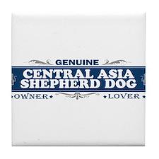 CENTRAL ASIA SHEPHERD DOG Tile Coaster