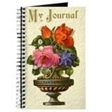 Antique Flower Bowl Journal